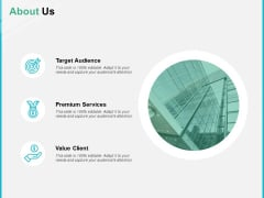 About Us Value Client Ppt PowerPoint Presentation Gallery Clipart Images