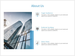 About Us Value Client Ppt PowerPoint Presentation Icon Example