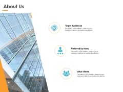About Us Value Clients Ppt PowerPoint Presentation Gallery Visual Aids