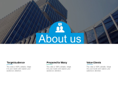 About Us Value Clients Ppt PowerPoint Presentation Slides Gallery