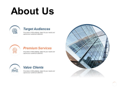 About Us Value Clients Ppt PowerPoint Presentation Slides