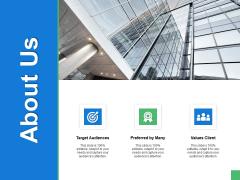 About Us Values Client Ppt PowerPoint Presentation Ideas Show