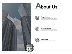 About Us Values Client Ppt PowerPoint Presentation Model Slide