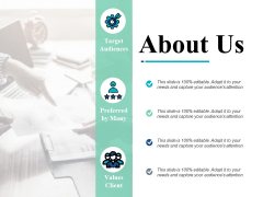 About Us Values Client Ppt PowerPoint Presentation Show Influencers