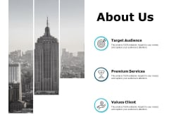 About Us Values Client Ppt PowerPoint Presentation Show Information