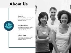 About Us Values Client Ppt PowerPoint Presentation Slides Graphics