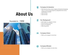 About Us Vision Mission Ppt PowerPoint Presentation Model Infographic Template