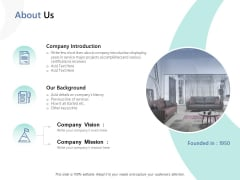 About Us Vision Ppt PowerPoint Presentation Icon Information