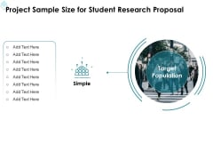 Academic Investigation Project Sample Size For Student Research Proposal Ppt Designs Download PDF