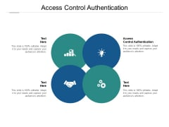Access Control Authentication Ppt PowerPoint Presentation Images Cpb Pdf