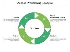 Access Provisioning Lifecycle Ppt PowerPoint Presentation Show Cpb Pdf