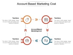 Account Based Marketing Cost Ppt PowerPoint Presentation Pictures Deck Cpb Pdf