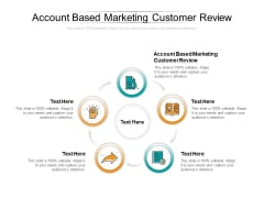 Account Based Marketing Customer Review Ppt PowerPoint Presentation Gallery Visual Aids Cpb