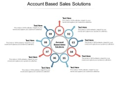 Account Based Sales Solutions Ppt PowerPoint Presentation Icon Slideshow Cpb