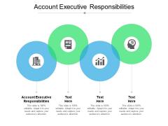 Account Executive Responsibilities Ppt PowerPoint Presentation Portfolio Maker Cpb Pdf