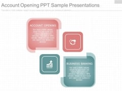 Account Opening Ppt Sample Presentations