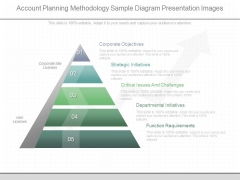 Account Planning Methodology Sample Diagram Presentation Images