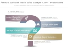 Account Specialist Inside Sales Example Of Ppt Presentation