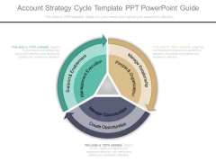 Account Strategy Cycle Template Ppt Powerpoint Guide