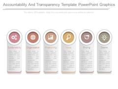 Accountability And Transparency Template Powerpoint Graphics