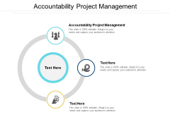 Accountability Project Management Ppt PowerPoint Presentation Professional Example File Cpb