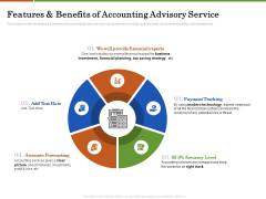 Accounting Advisory Services For Organization Features And Benefits Of Accounting Advisory Service Download PDF