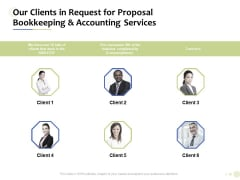 Accounting And Tax Services Our Clients In Request For Bookkeeping And Accounting Services Professional PDF