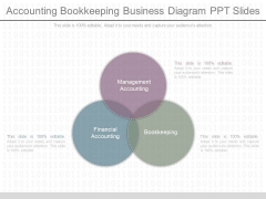 Accounting Bookkeeping Business Diagram Ppt Slides