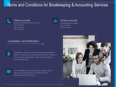 Accounting Bookkeeping Service Terms And Conditions For Bookkeeping And Accounting Services Themes PDF