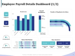Accounting Bookkeeping Services Employee Payroll Details Dashboard Bons Clipart PDF