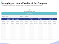 Accounting Bookkeeping Services Managing Accounts Payable Of The Company Ideas PDF