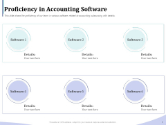 Accounting Bookkeeping Services Proficiency In Accounting Software Demonstration PDF
