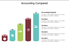 Accounting Compared Ppt PowerPoint Presentation Gallery Format Ideas Cpb