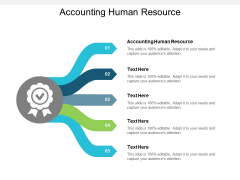 Accounting Human Resource Ppt PowerPoint Presentation Infographic Template Design Ideas Cpb