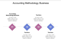 Accounting Methodology Business Ppt PowerPoint Presentation Outline Infographics Cpb