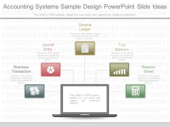 Accounting Systems Sample Design Powerpoint Slide Ideas
