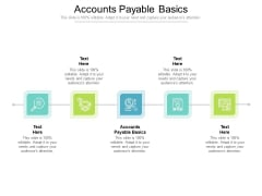 Accounts Payable Basics Ppt PowerPoint Presentation Inspiration Slides Cpb Pdf