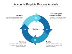 Accounts Payable Process Analysis Ppt PowerPoint Presentation Styles Graphics Pictures Cpb
