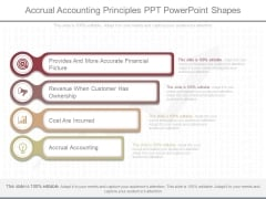 Accrual Accounting Principles Ppt Powerpoint Shapes