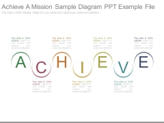 Achieve A Mission Sample Diagram Ppt Example File