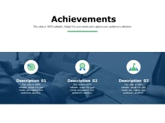 Achievements Business Ppt Powerpoint Presentation Professional Rules