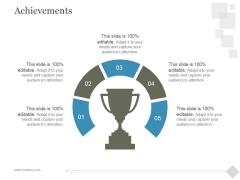 Achievements Ppt PowerPoint Presentation Deck