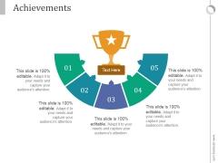 Achievements Ppt PowerPoint Presentation Guidelines