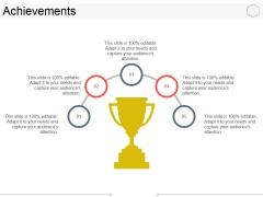 Achievements Ppt PowerPoint Presentation Ideas Topics