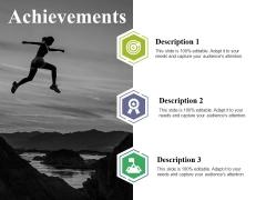 Achievements Ppt PowerPoint Presentation Infographics Portrait