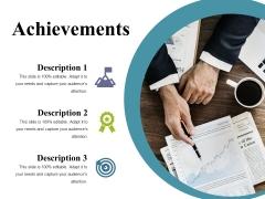Achievements Ppt PowerPoint Presentation Show Deck