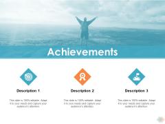Achievements Ppt PowerPoint Presentation Show Slide Download