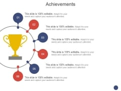 Achievements Template 1 Ppt PowerPoint Presentation Ideas Clipart
