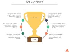 Achievements Template 1 Ppt PowerPoint Presentation Inspiration