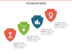 Achievements Template 1 Ppt PowerPoint Presentation Model Files